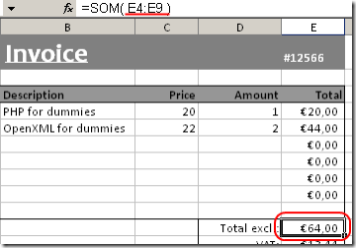 Calculation Engine - PhpSpreadsheet Documentation